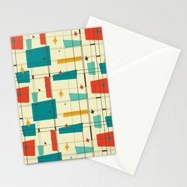 Amazing Mid Century Decoration Stationery Cards