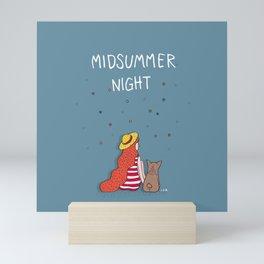 A MIDSUMMER NIGHT Mini Art Print