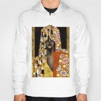 klimt Hoodies featuring Klimt Me by Estúdio Marte