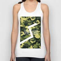 "military Tank Tops featuring Military  by ""CVogiatzi."