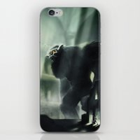 shadow of the colossus iPhone & iPod Skins featuring Barba the Colossus by onez