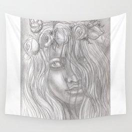 Goddess Flora Wall Tapestry