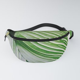 Big Leaves - Tropical Nature Photography Fanny Pack