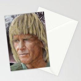 George Greenough Under Wave Stationery Cards