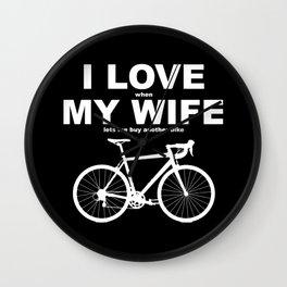Love My Wife Wall Clock