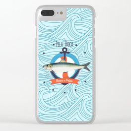 Sardine Clear iPhone Case