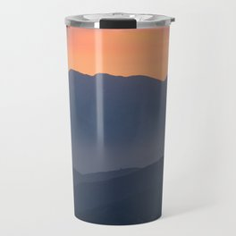 Mountain Sunset II (Big Bear Lake, California) Travel Mug