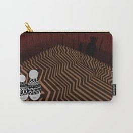 Pandas in the red room Carry-All Pouch