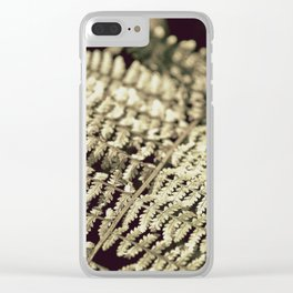Fronds Clear iPhone Case