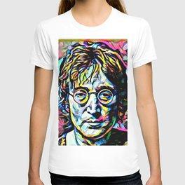 John Len non Imagine T-shirt