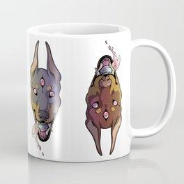 ★All-Seeing Doberman★ Fawn Coffee Mug