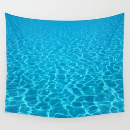 Swimming pool water sun reflection. Ripple Water. Wall Tapestry
