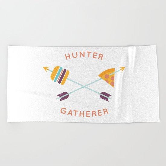 Hunter Gatherer Beach Towel