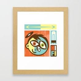 Hi Fi Framed Art Print