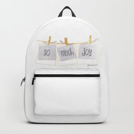 So Much Joy Backpack
