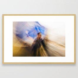 - Cercare la felicità - Framed Art Print