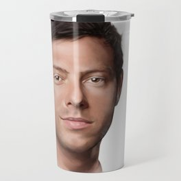 Cory Monteith Travel Mug
