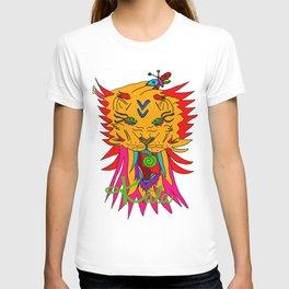 wizard lion T-shirt