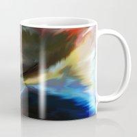 spiritual Mugs featuring SPIRITUAL AWAKENING by Sherri of Palm Springs   Art and Design