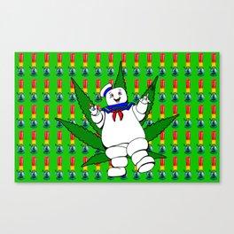Marshmallow Man Canvas Print