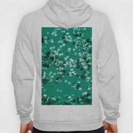 Emerald Glitter Stars #1 #shiny #decor #art #society6 Hoody