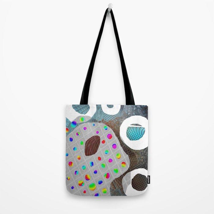 Rainbow Pallet Tote Bag