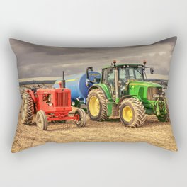 Marshall and the Deere Rectangular Pillow