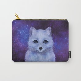 Arctic Fox (color version II.) Carry-All Pouch