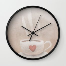 A Whole Latte Love Wall Clock