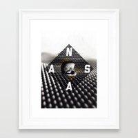 nasa Framed Art Prints featuring NASA by Eric Bryant
