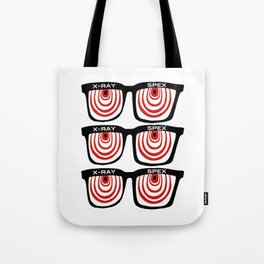 X-Ray Specs Tote Bag
