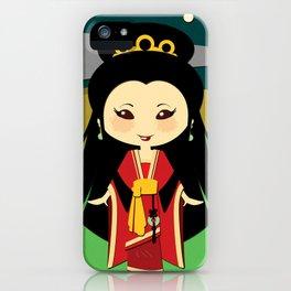 Girls of the World: China iPhone Case