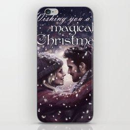 Captain Swan Magical Christmas iPhone Skin
