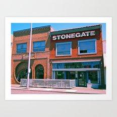 Stonegate architecture Art Print
