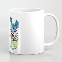 shy mouse Coffee Mug