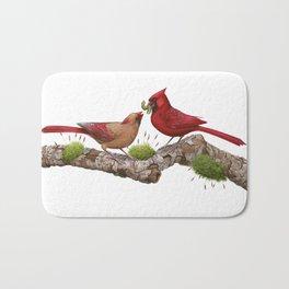 Northern  Cardinals Bath Mat