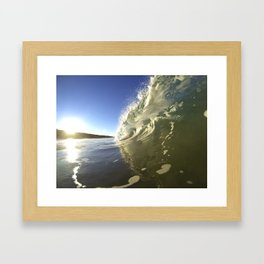 Golden Glow Framed Art Print