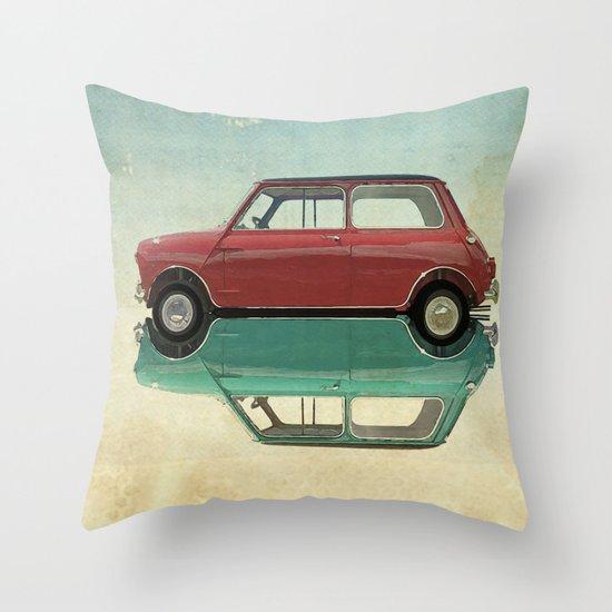 dear mini  Throw Pillow