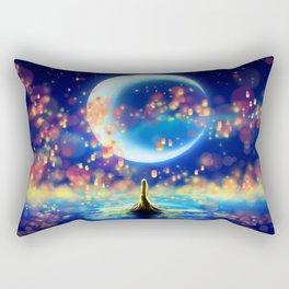STARRY NIGHT MERMAID Rectangular Pillow
