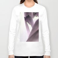 tulip Long Sleeve T-shirts featuring tulip by habish