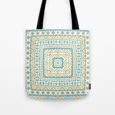 Square pattern  Tote Bag