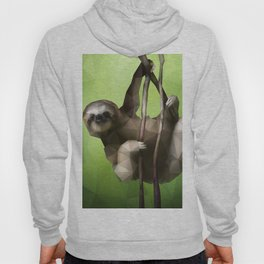 Sloth (Low Poly Lime) Hoody