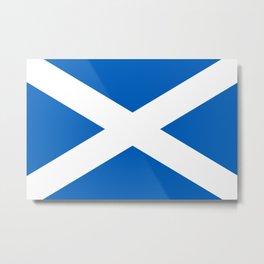 Flag of Scotland - High quality image Metal Print