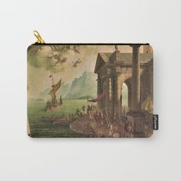 Ulysses Farewell to Penelope Seaport Landscape by Rex Whistler Carry-All Pouch