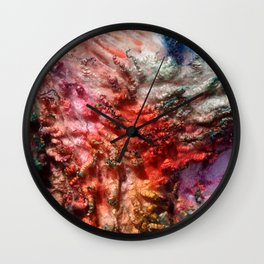 Dyed in the Wool Wall Clock