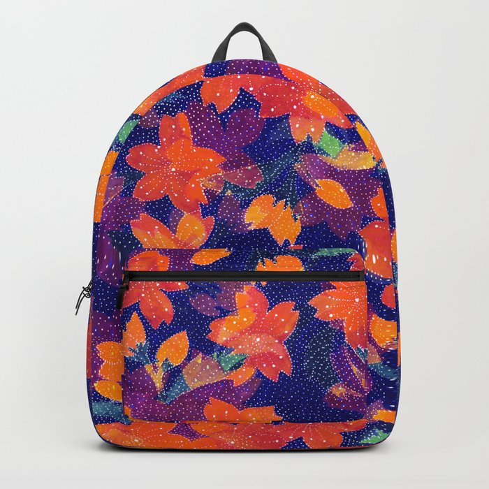 Japanese Garden: Blossoms Dk Backpack