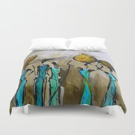 African Pride Duvet Cover