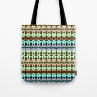 oasis Tote Bags featuring Oasis by Ornaart