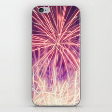 Fireworks - Evening Summer Festival Photography iPhone & iPod Skin
