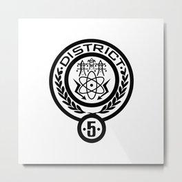DISTRIC Metal Print